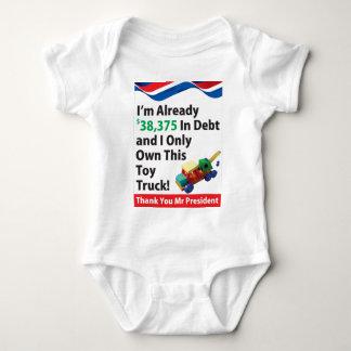 Truck Debt Baby Bodysuit