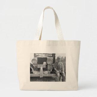 Truck del recogedor migratorio de la fruta, 1940 bolsas de mano
