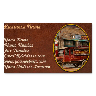 Truck - Delivery - Haas has it 1924 Magnetic Business Card