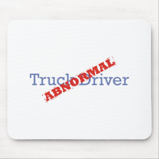 Truck Driver / Abnormal Mouse Pad