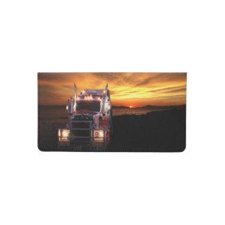 Truck Driver Checkbook Cover
