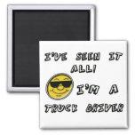 Truck Driver Fridge Magnet