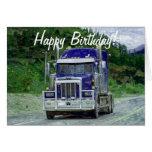 TRUCK Driver Funny Trucker Birthday Cards