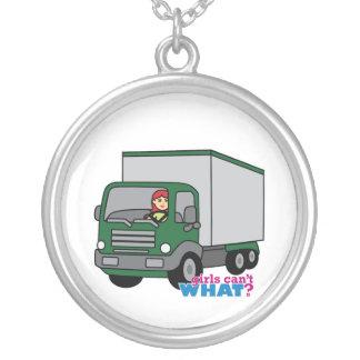 Truck Driver - Green Truck Jewelry