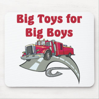 Truck Driver Mouse Pad