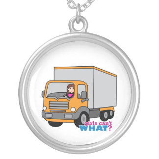Truck Driver Personalized Necklace