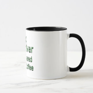 Truck Driver Powered by Coffee Mug