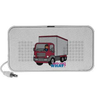 Truck Driver - Red Truck iPhone Speaker