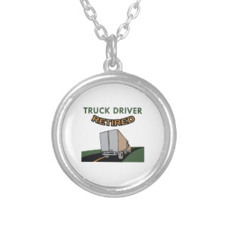 TRUCK DRIVER RETIRED CUSTOM NECKLACE