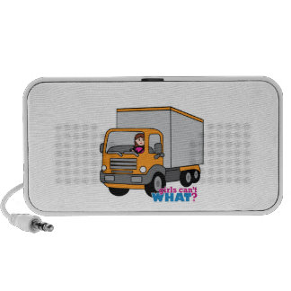 Truck Driver Travelling Speakers