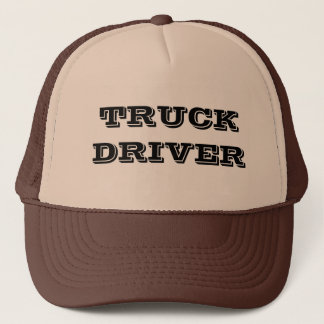 TRUCK DRIVER TRUCKER HAT