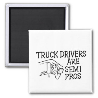 Truck Drivers Magnet
