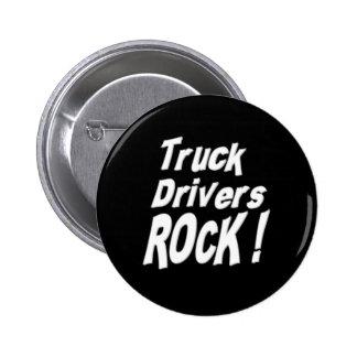 Truck Drivers Rock! Button