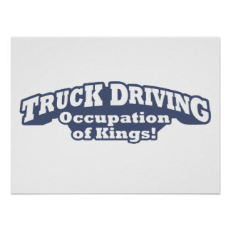 Truck Driving – Occupation of Kings! Poster