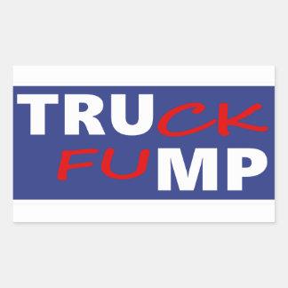 Truck Fump Rectangular Sticker