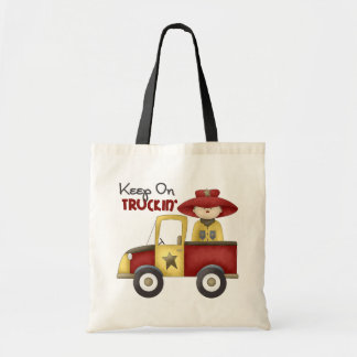 Truck Gift For Boys Tote Bag