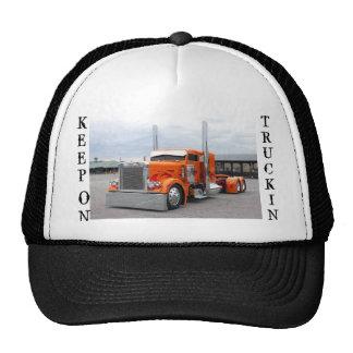 TRUCK HAT, KEEP, ON, TRUCKIN TRUCKER HAT