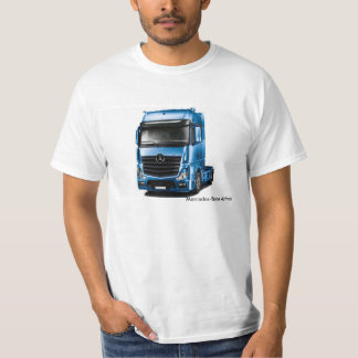 Truck image for Men's-T-Shirt-White T-Shirt
