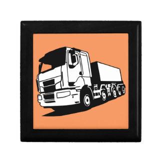 truck keepsake box