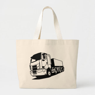 truck large tote bag