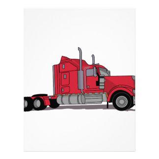 Truck Letterhead