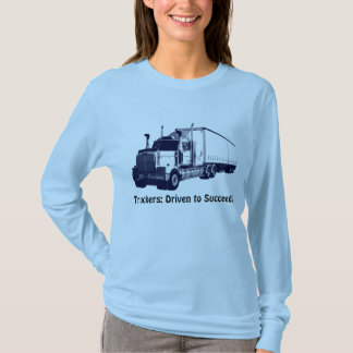 Truck & Lorry Driver Positive Thought Shirt