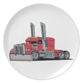 Truck Melamine Plate