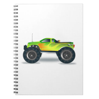 Truck Monster 4x4 ATV Destiny Congratulations Notebook