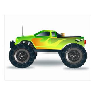 Truck Monster 4x4 ATV Destiny Congratulations Post Cards