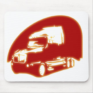 truck mouse pad
