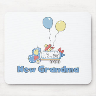 Truck New Grandma Baby Boy Mouse Mat