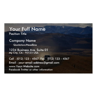 Truck on dirt road in western Canada Double-Sided Standard Business Cards (Pack Of 100)