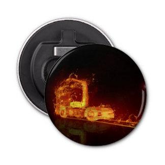 Truck on Fire! - Bottle Opener