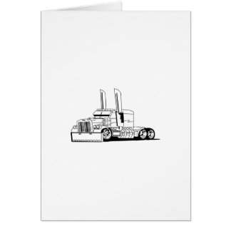 Truck Outline Card