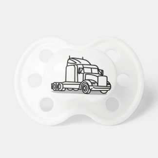 Truck Outline Pacifier