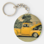 Truck Photo Pictures Vintage Old Classic  T Shirt Keychain