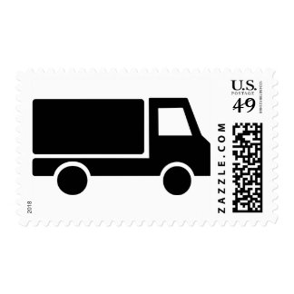 Truck Postage Stamp
