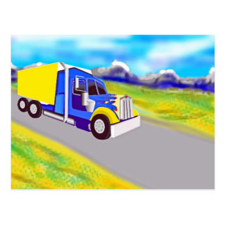 Truck Post Card