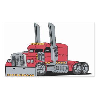 Truck Rectangular Sticker
