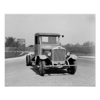 Truck resistente, 1925. Foto del vintage Póster