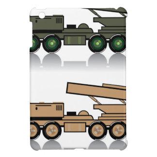 Truck rocket launcher iPad mini cover