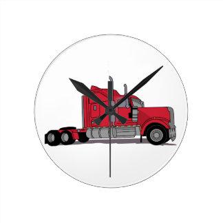 Truck Round Clock