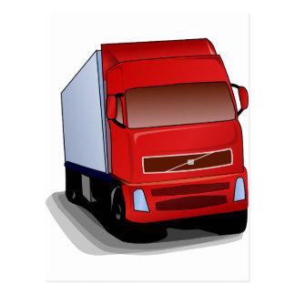 Truck Semi 4x4 ATV Destiny Congratulations Postcard