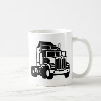 TRUCK semi trailer trucker  american Coffee Mug