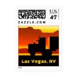 Truck Semi Travel Stamp Nevada Las Vegas NV