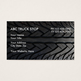 Truck Stop Business Cards