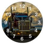 Truck Stop Sky Clock