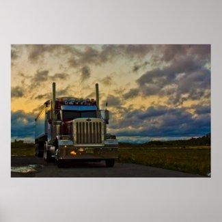 Truck Stop Sky fine art print print