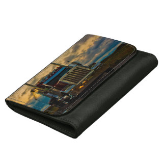 Truck Stop Sky Wallets For Women
