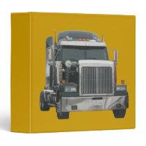 Truck tractor 3 ring binder